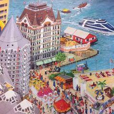 Charlotte Dematons: Nederland Rotterdam Rotterdam, Book Illustration, Childrens Books, Holland, Taj Mahal, Europe, My Love, Charlotte, Sketches