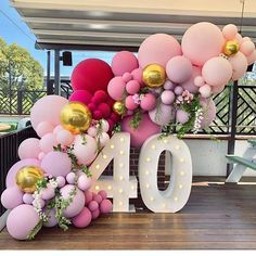 Wonderful Cost-Free Birthday Decorations Thoughts You don't need to use an enclosed artist to manufacture a massive record pictures upcoming party. 40th Birthday Balloons, 30th Birthday Parties, Birthday Celebration, 40th Birthday Themes, Diy 40th Birthday Decorations, Wedding Parties, Anniversary Parties, 40th Birthday Party Ideas For Women, 40th Bday Ideas