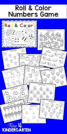 Print roll and play dice activities no prep just add dice print