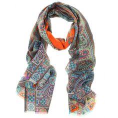mytheresa.com - Etro - DHELY PRINT SCARF - Luxury Fashion for Women / Designer clothing, shoes, bags