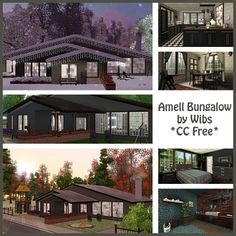 Amell Bungalow CC Free at Wibs And The Sims - Sims 3 Finds