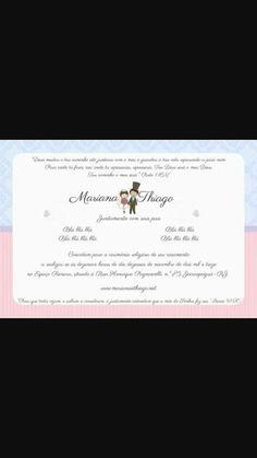 Tipos de convites - convite 1