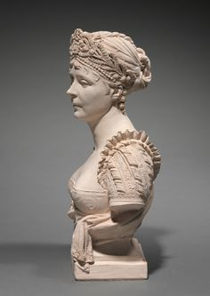 Bust of Empress Josephine, 1805 Joseph Chinard (French, 1756-1825) terracotta, Overall: 29.6 x 17 x 11 cm (11 5/8 x 6 11/16 x 4 5/16 in.)  ShowSee Also