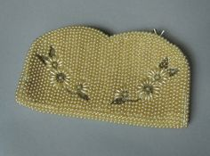 Vintage 1960s pearl embellished purse clutch by MardyStark on Etsy, $34.00