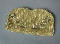 Vintage 1960s pearl embellished purse clutch by MardyStark on Etsy, $34.00