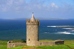 Beautiful Doolin, Co Clare, on WWW.WONDERFULIRELAND.IE County Clare, Irish Culture, My Ancestors, Dream Vacations, Monument Valley, Scotland, Ireland, To Go, Spaces