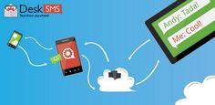 TabletSMS by DeskSMS  https://play.google.com/store/apps/details?id=com.koushikdutta.tabletsms#