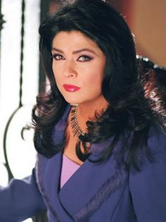 Victoria Ruffo. Born in Mexico City. Telenovela actress since 1980.