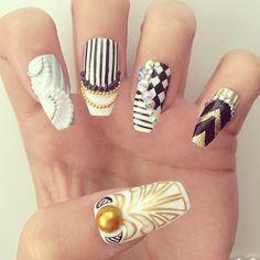 clipped tip stiletto nail swag dope nail design love obsession Diva Nails, Glam Nails, Bling Nails, Stiletto Nails, Funky Nails, Cute Nails, Pretty Nails, Colorful Nails, Fabulous Nails