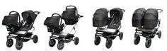 Side by side in comfort with the Mountain Buggy Duet