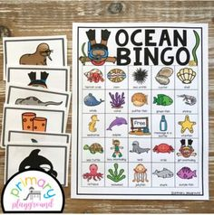 End Of The Year Ocean Theme Bundle by Primary Playground | TpT