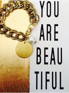 Monogram Vintage Pearl Bracelet