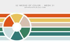 52 Weeks of Color :: Week 31 | brandigirlblog.com #brandigirlblog #color_palette