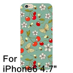 Lovely Fruit Cover Watermelon Pattern Printed TPU Soft Case for iPhone 5S 6 6S Plus