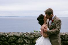 Outdoor Wedding at The Inn at Stonecliffe  | Mackinac Island, MI by Andrejka Photography