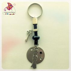 #Llavero del Principito con la llave de la #felicidad. #Abalorios #DIY #Estepona #CostaDelSol