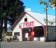Hood River County Fruit Loop is a self-guided tour of fruit stands, vineyards, alpacas and lavender farms along a scenic 35-mile loop in the Hood River Valley