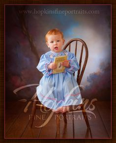 This concept with the book is interesting! We could use the book we used for your maternity and her newborn session.