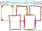 Festive Color Doodle Frames product from Small-Town-Clipart on TeachersNotebook.com