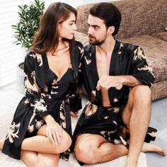 Silk Couple Pajamas Two Piece Princess Silhouette, Dress Silhouette, Perfect Image, Perfect Photo, Couple Pajamas, Tea Length Dresses, Normal Wear And Tear, Love Photos