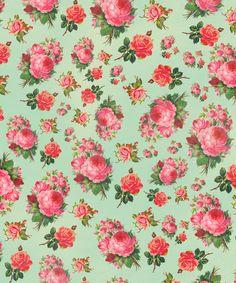 Floral pattern by Allyson Johnson Vintage Diy, Vintage Paper, Flower Wallpaper, Pattern Wallpaper, Paper Background, Background Patterns, Pattern Paper, Pattern Art, Textures Patterns