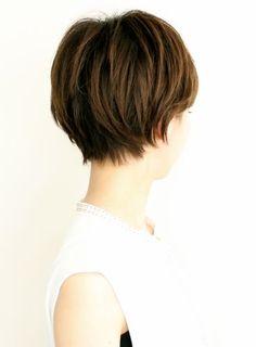 Shaggy Short Hair, Asian Short Hair, Short Hair With Bangs, Cute Hairstyles For Short Hair, Short Hair Cuts, Short Hair Styles, Grow Out, Grow Hair, Cut And Color