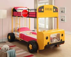 Top designs of toddler car bed, kids car bed for boys, race car bed More than 50 design ideas of kids car bed and toddler car beds for boys and girls, race car bed, and more models of care bed frame and design Toddler Car Bed, Kids Car Bed, Twin Bunk Beds, Kid Beds, Twin Twin, Race Car Bed, Canapé Design, Design Ideas, Interior Design