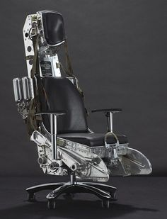 lockheed f-104 starfighter ejection seat - I want this for my office chair!