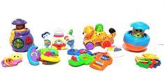 Lot of 8 Baby Infant Developmental Educational Toys Fisher Price VTech Mattel