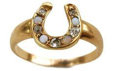 horseshoe ring!