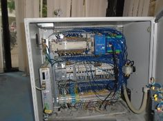 Control panel manufacturing and wiring.