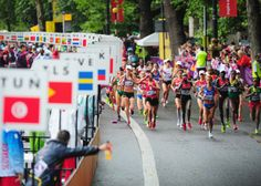 Women's Marathon on Day 9 of the London 2012 Olympic Games
