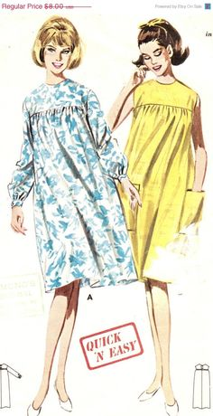 Holiday SALE 20% Off Vintage 1960s Quick and by patternpalooza Shop Now  Maternity Sewing Patterns 7524a86aaa77