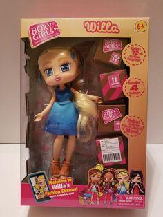 "Boxy Girls NOMI 8/"" Doll 4 Surprise Packages BONUS Mini Boxy Girls Ellie 2018"