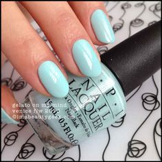 OPI Gelato On My Mind – OPI Venice Collection 2015