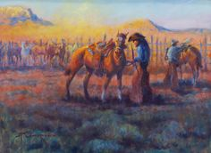 Time To Roll, by Mike Capron; Texas Cowboy Art Time To Roll, by Mike Capron; Western Signs, Western Art, Cowboy Horse, Cowboy Art, Canvas Art Prints, Painting Prints, Art Boots, Texas Cowboys, Little Cowboy