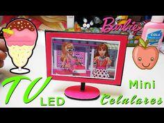 Como hacer un cepillo con espejo para tus muñecas Monster High, Ever After High y Barbie - YouTube