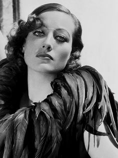 Joan Crawford photographed by George Hurrell, 1929. @designerwallace