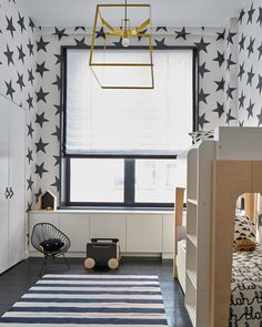 This 4000 Square Foot Upper East Side Duplex was a gut renovation combo of two apartments. With high ceilings and a monochromatic color palette this space feels dramatic and architecturally interesting. New York Apartments, Cool Apartments, Upper East Side, Estilo Ny, Kid Spaces, Living Spaces, Interior Minimalista, Duplex, Kids Room Design