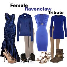 The Hunger Games/Harry Potter Cross Over : Female Ravenclaw Tribute, created by… Harry Potter Mode, Harry Potter Style, Harry Potter Outfits, Ravenclaw, Movie Inspired Outfits, Themed Outfits, Harry Potter Kleidung, Pretty Outfits, Cute Outfits