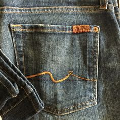 Seven original bootcut jeans never worn! The original seven jeans!  just found them in a box recently after moving! Perfect condition shown in photo 7 for all Mankind Jeans Boot Cut