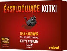 Rebel, gra towarzyska Eksplodujące Kotki - Rebel | Sklep EMPIK.COM