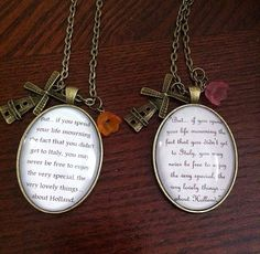 Welcome to Holland inspired necklace on Etsy, $15.00 I NEEEEEDDDD this!!! Just in case anyone wants to get me a gift!!