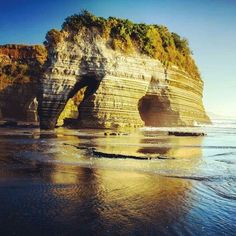 Elephant Rock, New Zealand - although I think it looks more like a woolly mammoth!