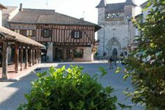 Villereal, in Lot et Garonne, a bastide town in France I remember playing table football with my son here Table Football, France, 14th Century, Europe, Holidays, Mansions, House Styles, Outdoor Decor, Holidays Events