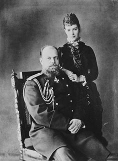 Alexander III, Emperor of Russia and Maria Feodorovna, Empress of Russia | Royal Collection Trust