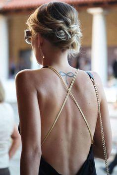 tatouage infini