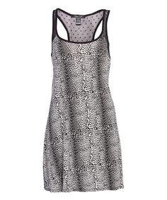 Black Leopard Sweet Seduction Nightgown
