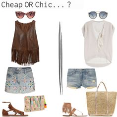 Cheap or chic? Beachoutfit