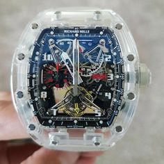 RM 056 All Sapphire Limited Edition 5 pcs...$1.8m Guess what number do we have?  See stories for more watch deals!